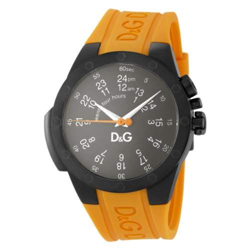 D & G Dolce & Gabbana DW0596 Jack GMT Herrenuhr