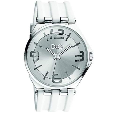 Dolce&Gabbana Herren-Armbanduhr Analog weiss DW0763