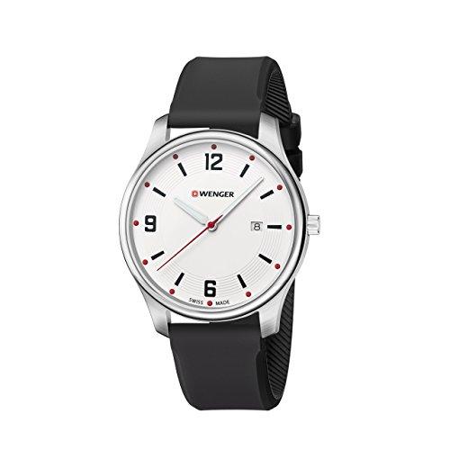 WENGER Unisex Armbanduhr Analog Quarz Silikon 01 1441 108