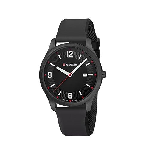 WENGER Unisex Armbanduhr Analog Quarz Silikon 01 1441 111