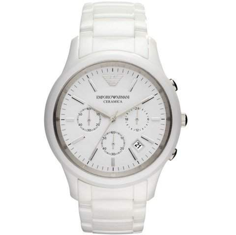 Emporio Armani Herren-Armbanduhr XL Chronograph Quarz Keramik AR1453