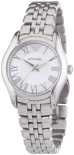 Emporio Armani Damen-Armbanduhr XS Analog Quarz Edelstahl AR1716