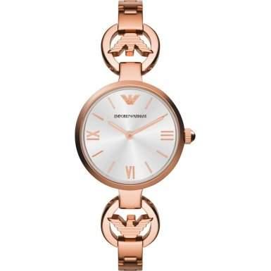 Emporio Armani Damen-Armbanduhr Analog Quarz Edelstahl AR1773