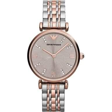 Emporio Armani Damen-Armbanduhr Analog Quarz Edelstahl AR1840