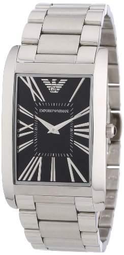 Emporio Armani Herren-Armbanduhr Analog Quarz Edelstahl beschichtet AR2053