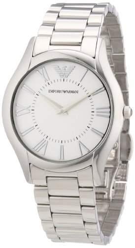 Emporio Armani Damen-Armbanduhr Analog Quarz Edelstahl AR2056