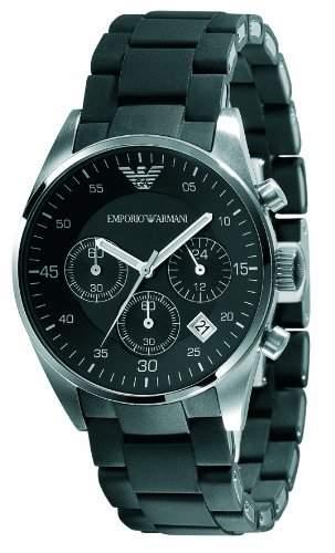 Emporio Armani Damen-Armbanduhr Sports Chronograph Chronograph Edelstahl AR5868