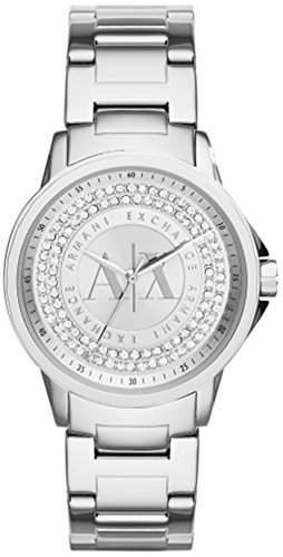 Emporio Armani Damen-Armbanduhr Analog Quarz Edelstahl AX4320
