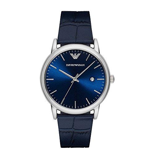 Emporio Armani Analog Quarz One Size blau blau