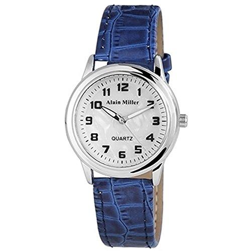 Damen Uhr der Marke Alain Miller blau