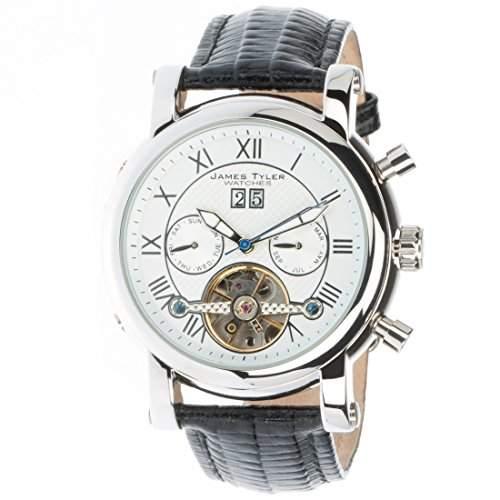 James Tyler Herren-Armbanduhr, Automatik Chronograph mit Kalender, JT700-2