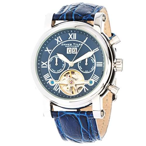 James Tyler Herren-Armbanduhr, Automatik Chronograph mit Kalender, JT700-3