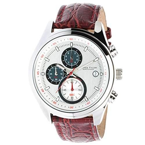 James Tyler Herren-Armbanduhr, Quarz Chronograph, JT701-1