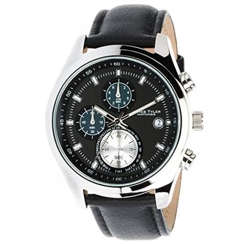 James Tyler Herren-Armbanduhr, Quarz Chronograph, JT701-2