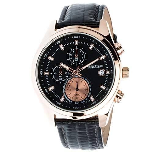 James Tyler Herren-Armbanduhr, Quarz Chronograph, JT701-3