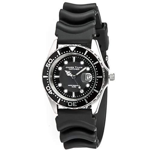 James Tyler Herren-Armbanduhr, Quarz-Werk mit Kautschukband, JT705-1