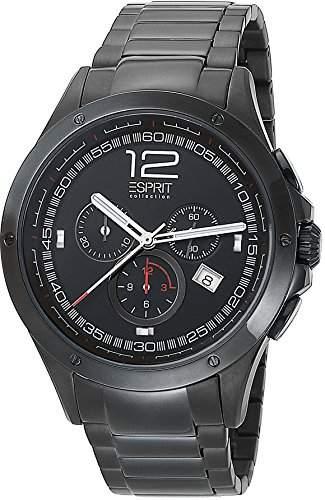 Esprit Collection Herren-Armbanduhr Atropos Chronograph Quarz Edelstahl EL101421F08