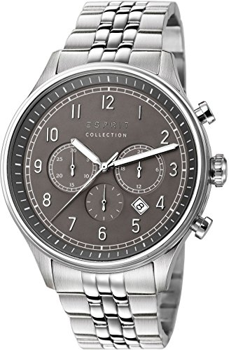 Esprit Collection Herren Armbanduhr Thaumas Chronograph Quarz Edelstahl EL102141F01