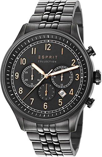 Esprit Collection Thaumas Chronograph Quarz Edelstahl EL102141F03