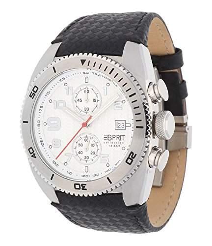 Esprit Herren-Armbanduhr Chronograph Leder EL900231002