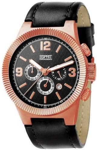 Esprit Herren-Armbanduhr Superkeen Rose ES101671004