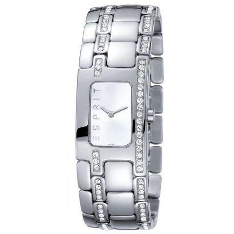 Esprit ES102322002 Organic Glam Silver Houston Edelstahl 30m Analog