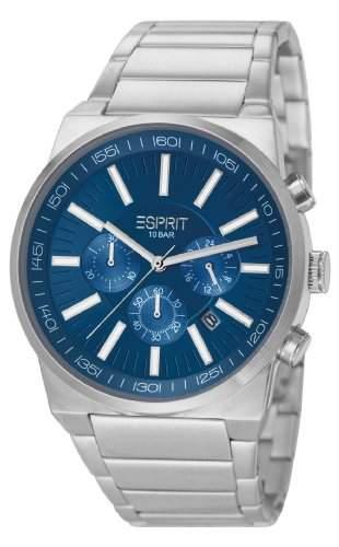 Esprit Herren-Armbanduhr XL Modesto Chronograph Quarz Edelstahl ES105571004