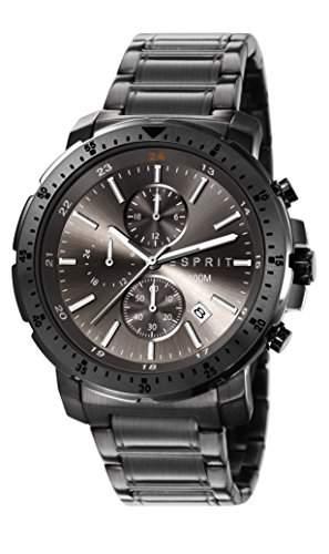 Esprit Herren-Armbanduhr Chronograph Quarz Edelstahl ES107521004