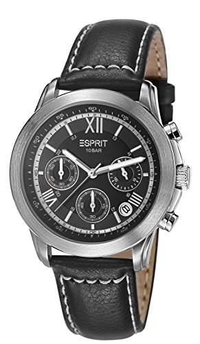 Esprit Herren-Armbanduhr Doug Oriental Chronograph Quarz Leder ES900751002