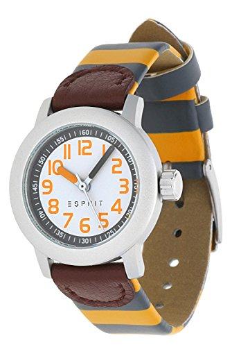 Esprit Jungen Armbanduhr Uniform Horloge grau ES106414027