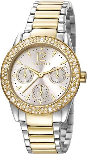 Esprit Damen Armbanduhr Analog Quarz Edelstahl ES107152005
