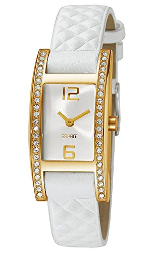 Esprit Damen Armbanduhr Analog Quarz Leder ES103692004
