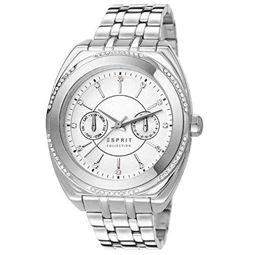 Esprit Damen Armbanduhr Clymene Analog Quarz Edelstahl EL102072F06