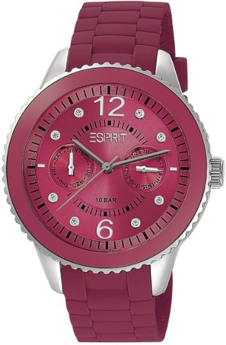Esprit Marin 68 Speed Raspberry Analog Quarz Kautschuk ES105332013