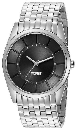 Esprit ES104202004 slims lady silver black schwarz Edelstahl 30m Analog