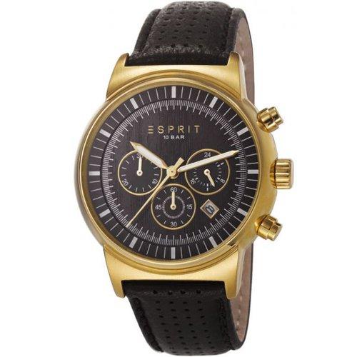 Esprit ES106851003 Woodward Gold Black Chronograph