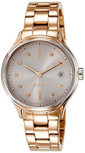 Esprit ES108552003 esprit tp10855 rose gold Uhr vergoldet vergoldet 30m Analog Datum rose
