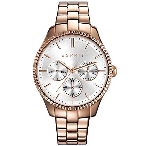 Esprit esprit tp10894 rose gold Uhr Damenuhr vergoldet vergoldet 50m Analog Datum rose