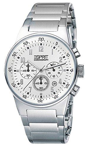 Esprit Herren Armbanduhr Analog Quarz Edelstahl ES000T31022