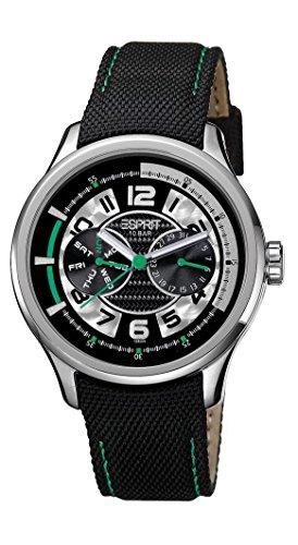 Esprit Herren Armbanduhr Analog Quarz Textil ES102851003