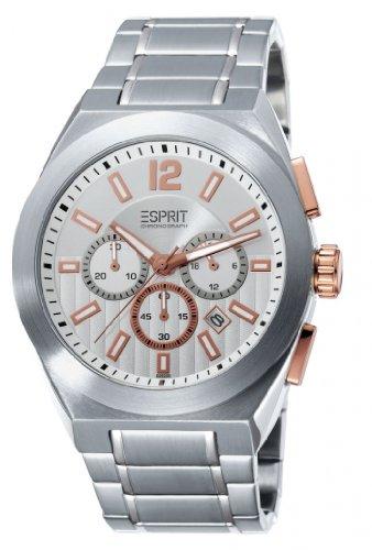 Esprit XL Pace Silver Chronograph Edelstahl ES102521005