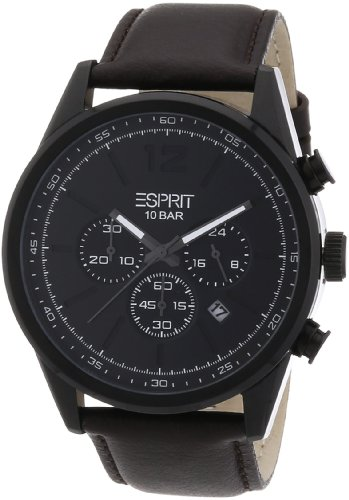 Esprit XL menlo Analog Quarz Leder ES106351003
