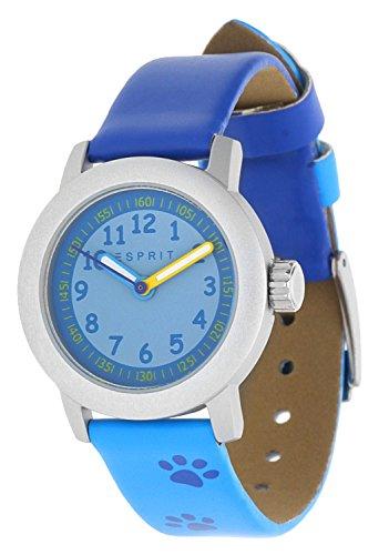 Esprit Maedchen Armbanduhr Cutie Face blau ES106414029