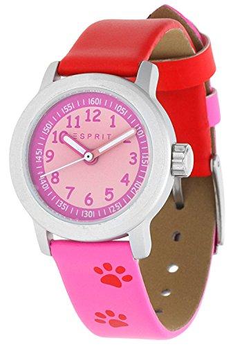 Esprit Maedchen Armbanduhr Cutie Face pink ES106414030