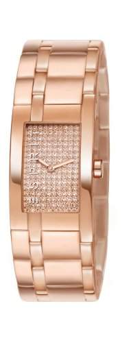 Esprit Damen-Armbanduhr Houston Glam Rose Analog Quarz ES107042007