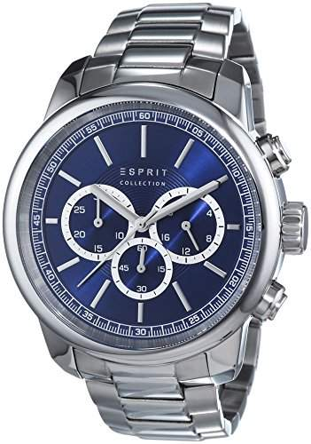 Esprit Herren-Armbanduhr Zethos Chrono Chronograph Quarz Edelstahl EL102171005