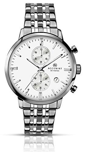 Accurist Herren Armbanduhr Chronograph Quarz 7076 01