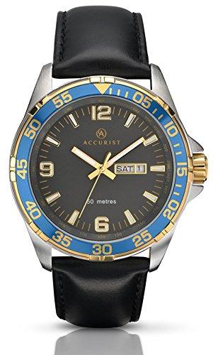 Accurist Herren Armbanduhr Unisex 7070 01 Analog Quarz
