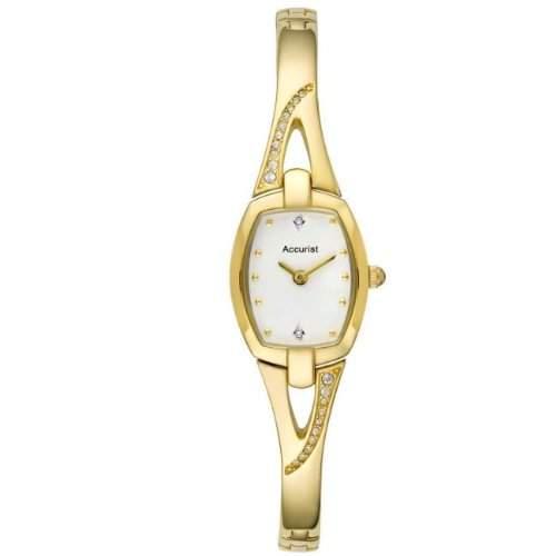 Accurist Damen-Armbanduhr Analog Quarz Edelstahl LB1292W
