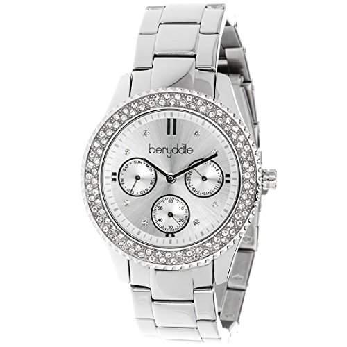 Berydale Damen Armbanduhr mit Metall-Gliederband und Quarzwerk, BD701-1